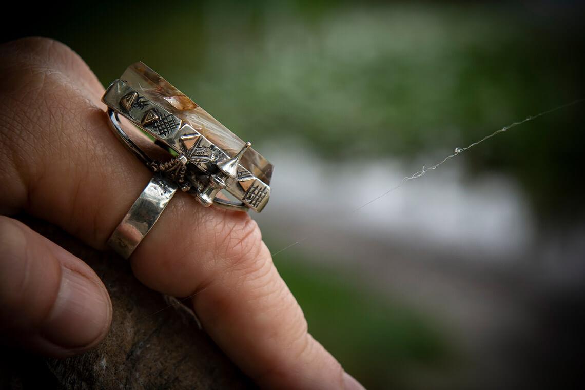 Ring «Castle»
