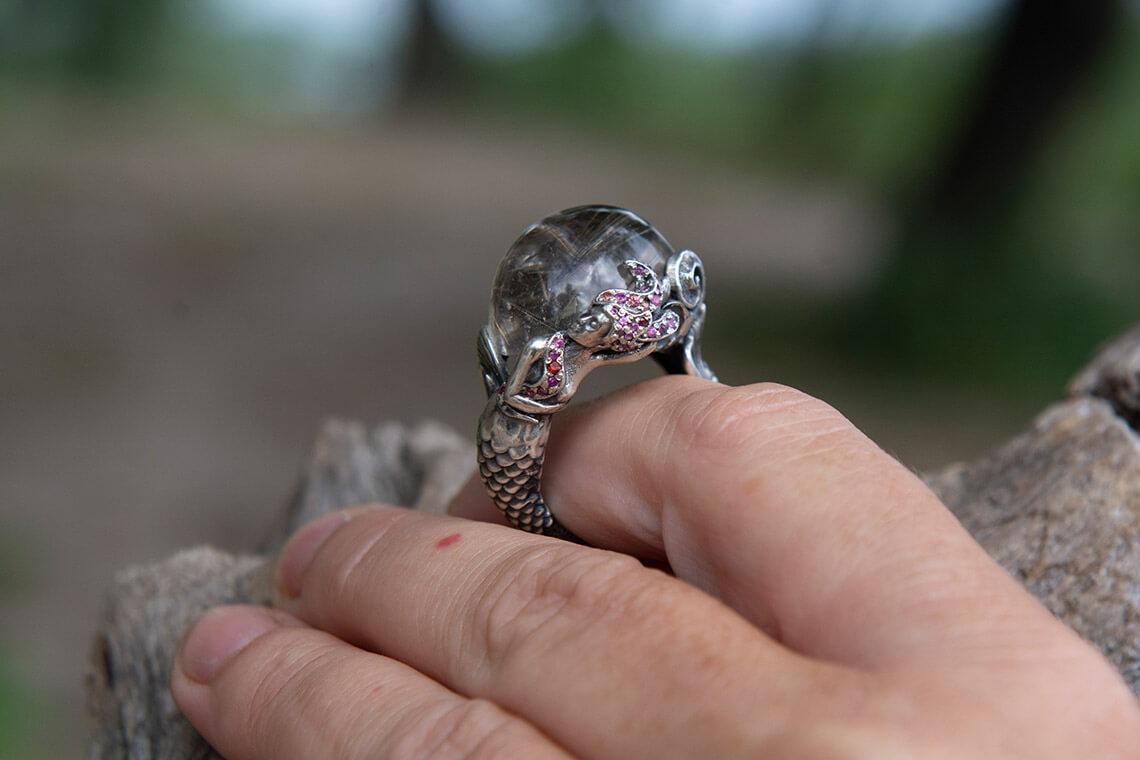 Кольцо «Русалка»