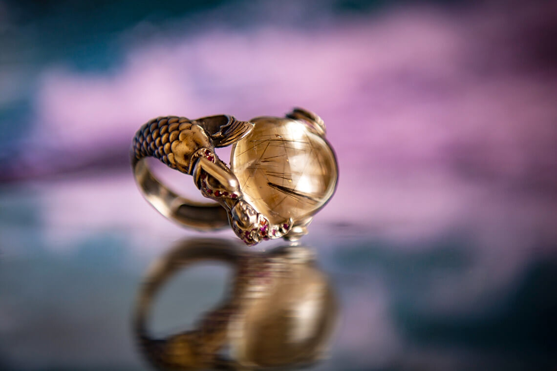 Ring «Mermaid»