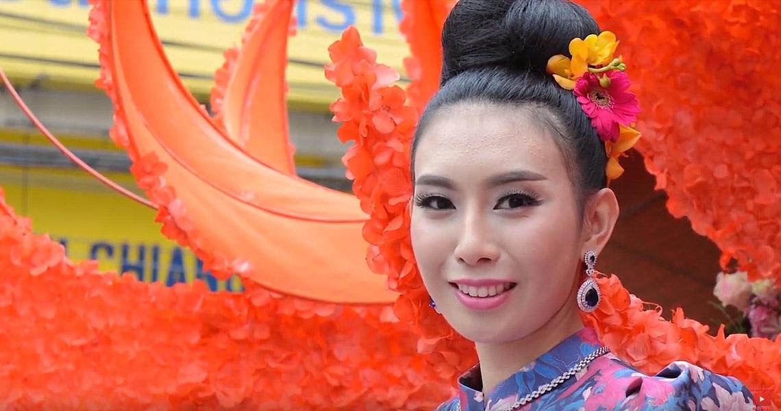 Thailand. Chiang Mai. Flower Festival 2018
