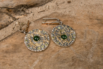 Earrings «Universe»